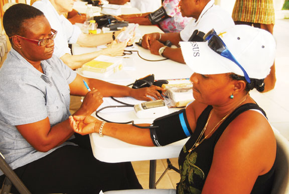 Blood Pressure and Diabetes Screening