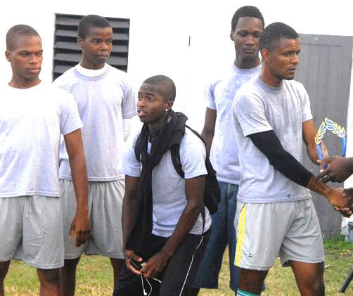 3rd place Men team, Gunners