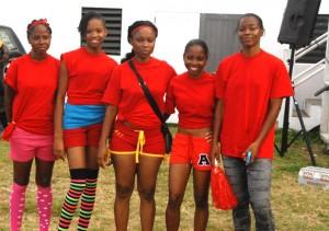 2nd place Jamrock girls