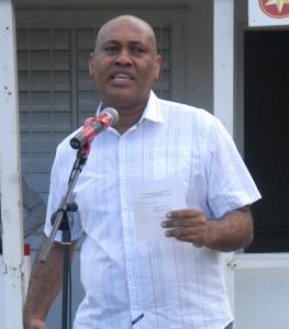 Sports Minister, Colin Riley