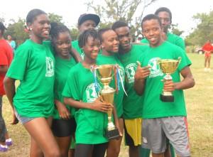The MSS relay teams