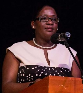 Principal Payne and Guest Speaker Debra Lewis