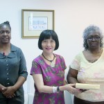 Sujue handsover funds to PRC