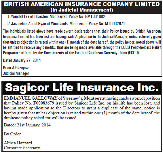 Insurance Notices