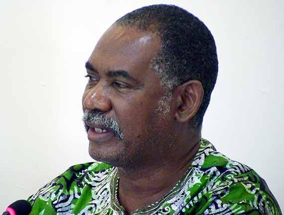 Former Premier Reuben Meade