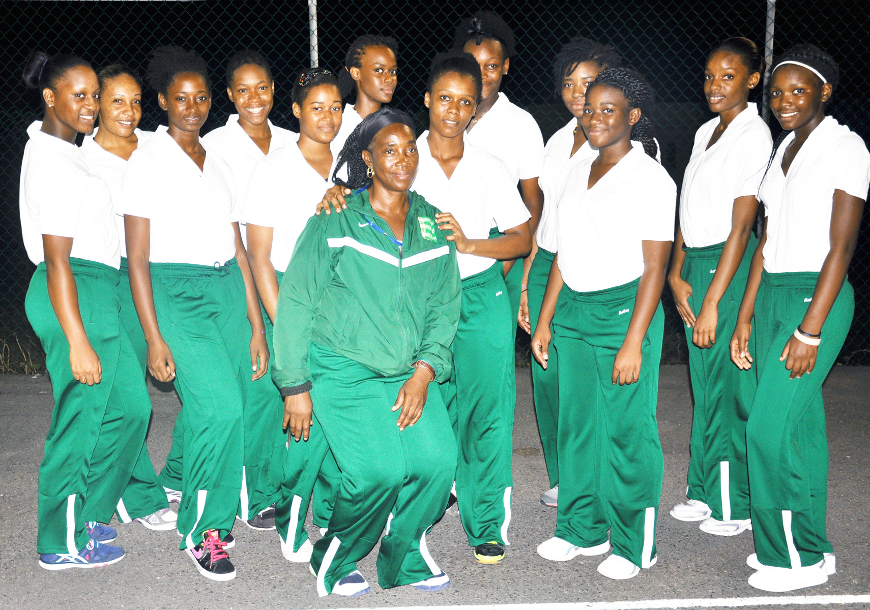 Montserrat Under-23 Netball team - 2015