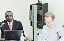 Premier Romeo and DFID's Martin Dawson