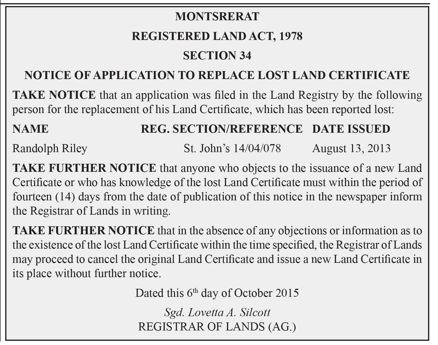 Legal Notice 2