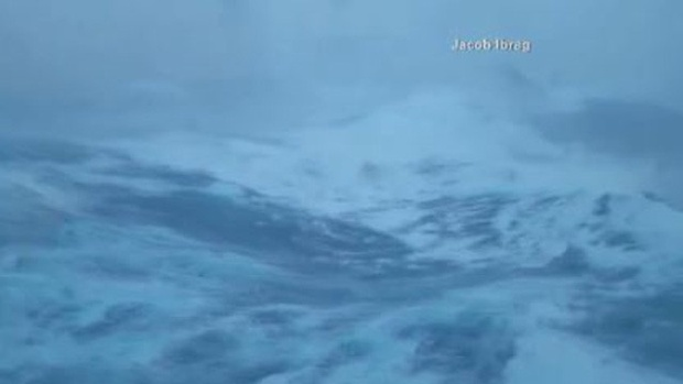 Royal Caribbean Apologizes For Cruise Ships Stormy Ride The - Cruise ship in rough waters