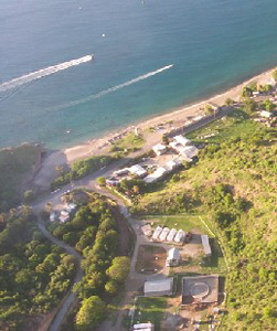 Carr's Bay petrol bulk_aerial view_w