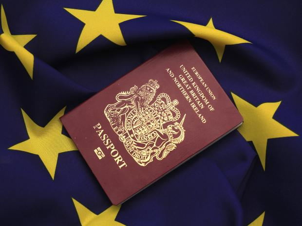 One reader wonders how the passport office will deal with every UK citizen trying to change their passport from EU to UK (Getty Images)