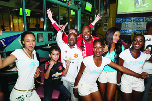 Fans United in celebration of Manchester United's big win 1