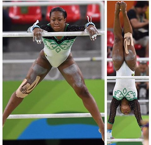 Toni-Ann Williams from Jamaica scored 50.966
