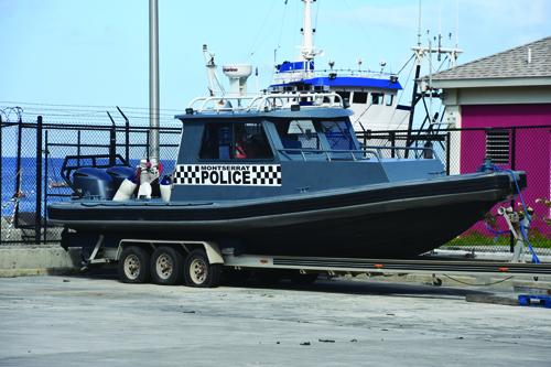 New police vessel on the horizon