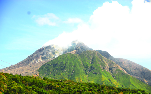 Still signs of unrest yet at the Soufriere Hills Volcano