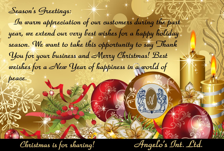 More Christmas Messages The Montserrat Reporter
