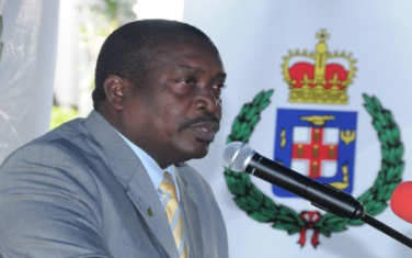 National Security Minister, Robert Montague (file Photo)