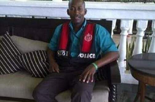 Corporal Melvin Smith, shot dead in Mandeville
