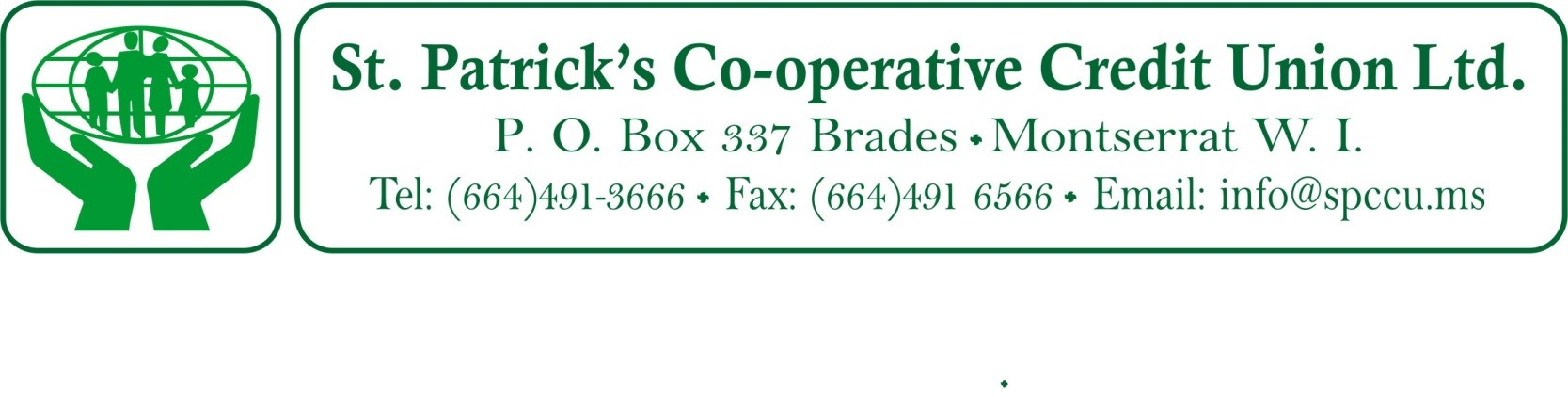 St Patricks Co-Operative Credit Union Ltd Vacancy Notice