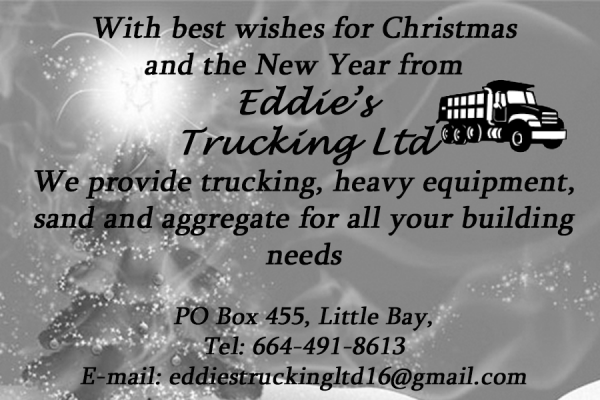 Eddie's Trucking Limited - Christmas Ad
