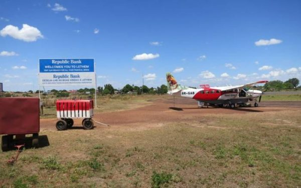 Lethem Airstrip. Photo: Andrew Short