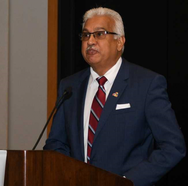 Hon Terrence Deyalsingh, Minister of Health, Republic of Trinidad and Tobago