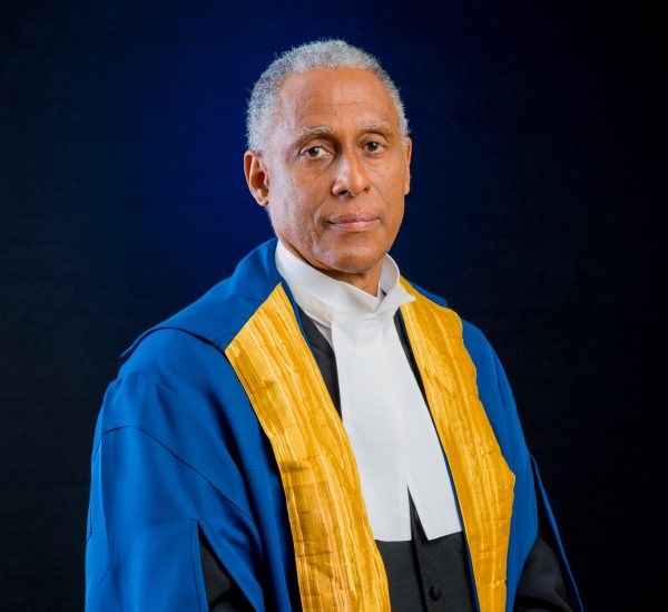 CCJ President - Justice Saunders