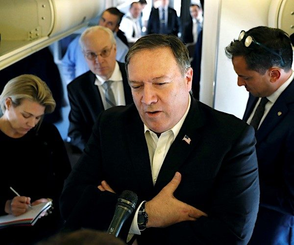 Pompeo reports - Trump says story is incorrect