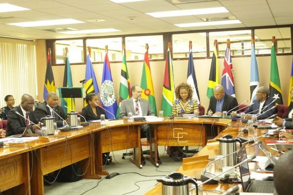 Delegates at the opening of the 36th COHSOD in Georgetown, Guyana