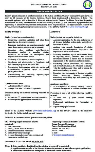 Updated Career Opportunity ECSRC