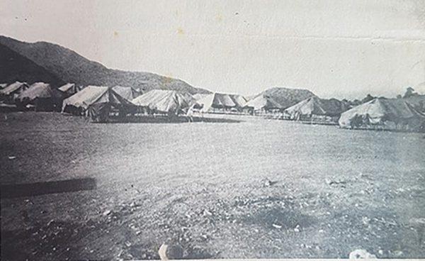 tents at Geralds Park