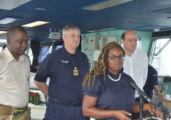 Major Ryan, Capt MacAnley, Annesta Fergus, Gov Pearce DSC_8701 web