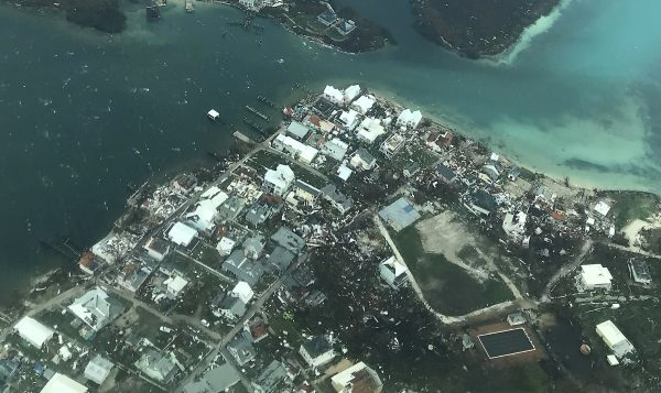 Bahamas Damage is seen from Hurricane Dorian in the