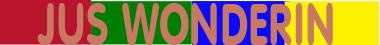 Jus-Wonderin-logo